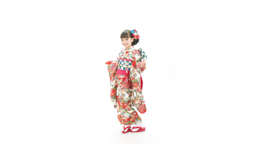 フォトスタジオタートルの七五三着物 四つ身(7歳・女の子用)