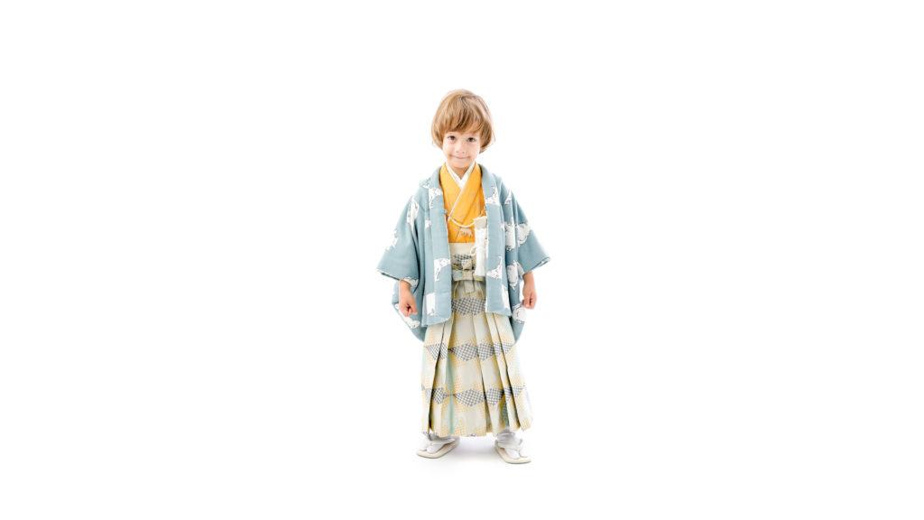 フォトスタジオタートルの七五三着物 羽織袴(3歳/5歳男の子用)